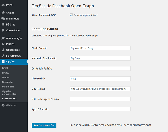 Facebook Open Graph by OAlves — WordPress Plugins